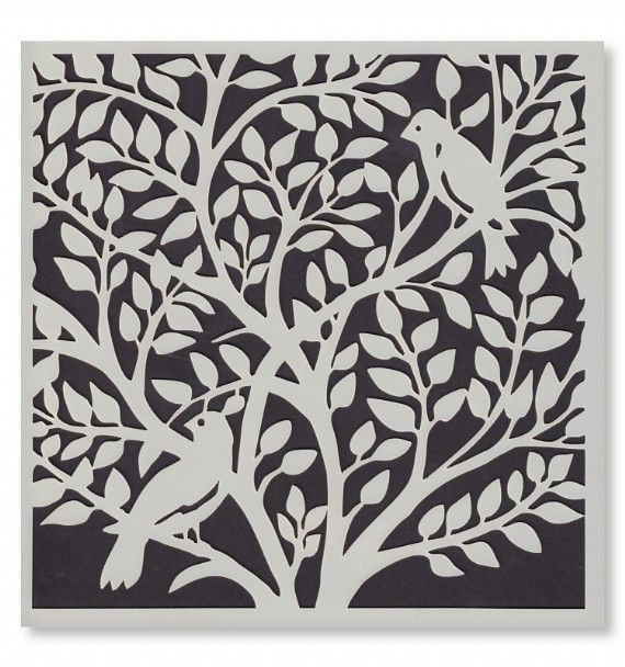 Signature Stencils - Birds in a Tree 6612 from Joanna Sheen