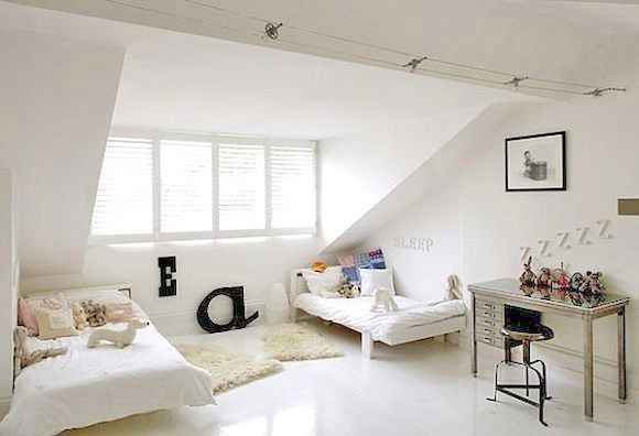 Shared Kid's Room in Attic