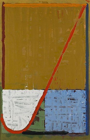 ymutate:  Michael Johnson Green St. NY City Studio, 1982 oil on paper 101 x 64.3cm