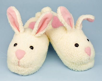 Classic Bunny Slippers - Super #cute and comfy bunny slippers, with sizes for the whole family!