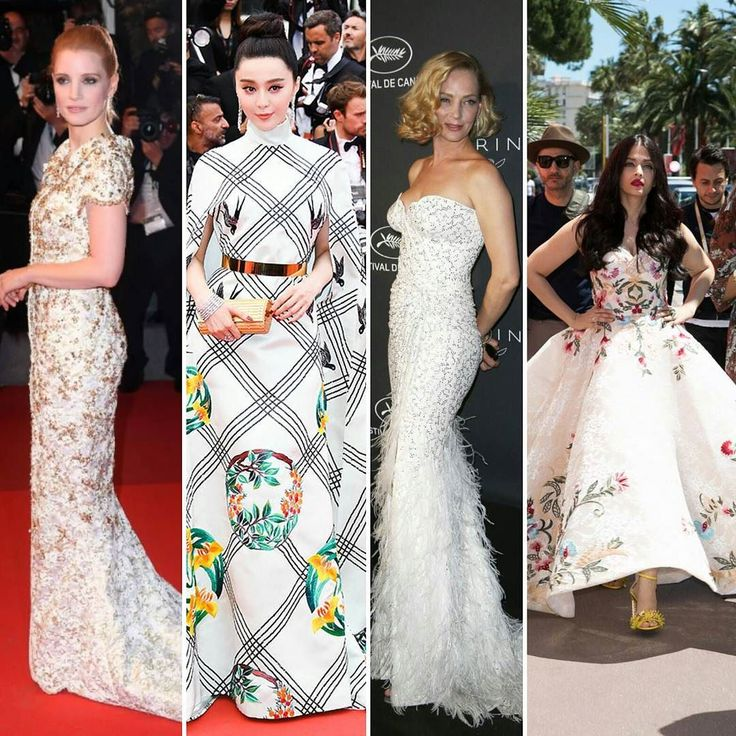 And that's a wrap! After 10 days of great fashion and yet-to-be-released movies Cannes ended last night with a Diane Kruger win. Over the past few days we  #jessicachastain in #chanel #fanbingbing in Chinese stylist turned designer #christopherbu #umathurman in #versace and #aishwaryarai in #markbumgarner. What's been your favourite gown? Tell us today as we prepare a wrap-up of the most stylish bridal-worthy gowns for tomorrow.  . . #CannesFilmFestival #cannes2017 #cannes…