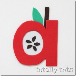 Crafty ABC's lower caseLetter Crafts, Apples Crafts, Letters Crafts, Abc Crafts, Alphabet Letters, Alphabet Crafts Preschool, Kids, Totally Tots, Preschool Crafts