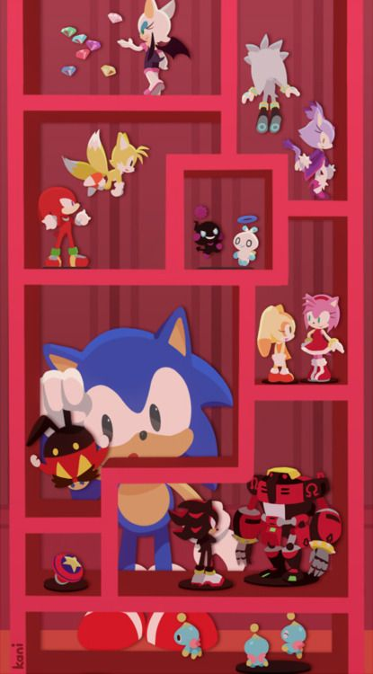 Sonic the Hedgehog Collection Room