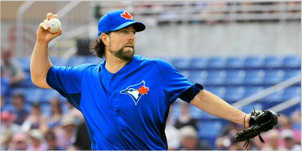 Toronto Blue Jays R A Dickey Broke His Finger Nail in Sunday's Game vs Boston