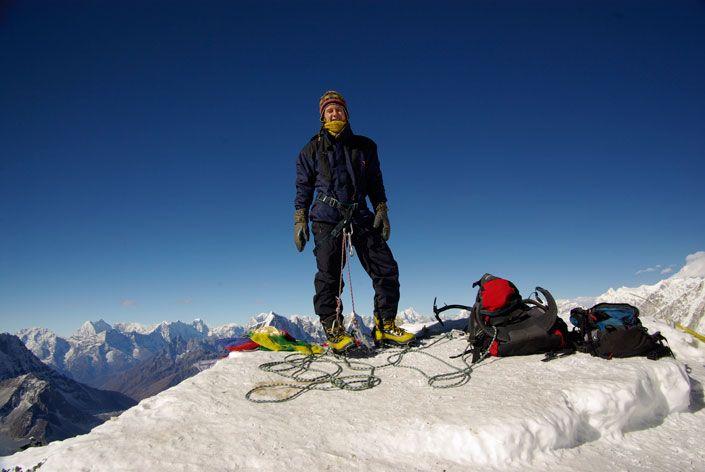 We arrange you Lobuche West Peak Climbing Eco-holidays in Everest Himalaya & Sagarmatha - Makalu National Park eco destination Nepal with ecotourism principles.