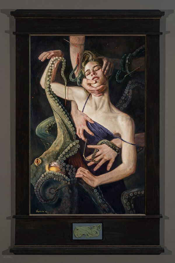 Lustful and lush paintings depicting 'The Seven Deadly Sins' by Gail Potocki | Dangerous Minds