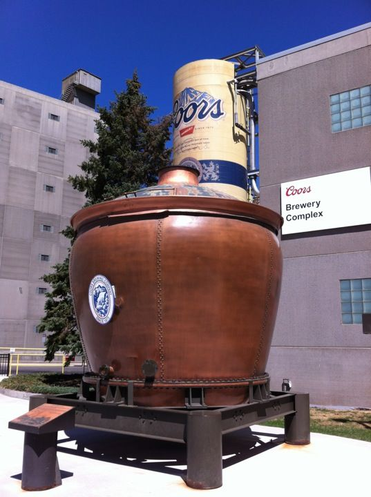 Coors Brewing Company in Golden, CO