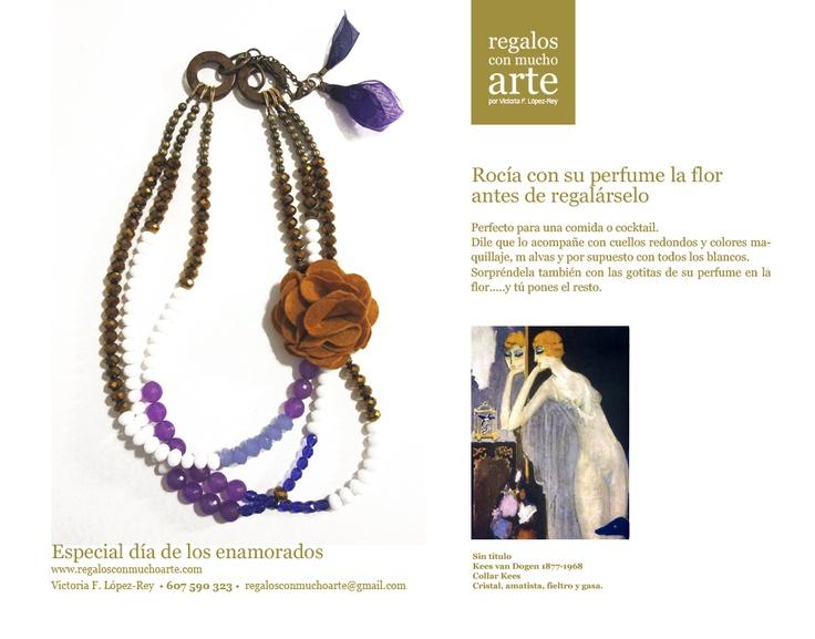 Collar Kees  $116 - 90€  www.regalosconmuchoarte.com