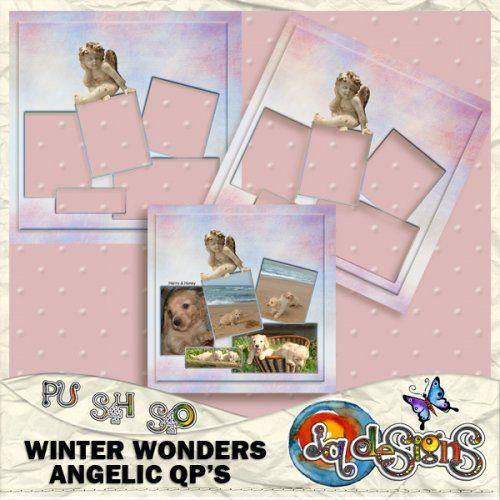 JQD Winter Wonders Angelic QPs