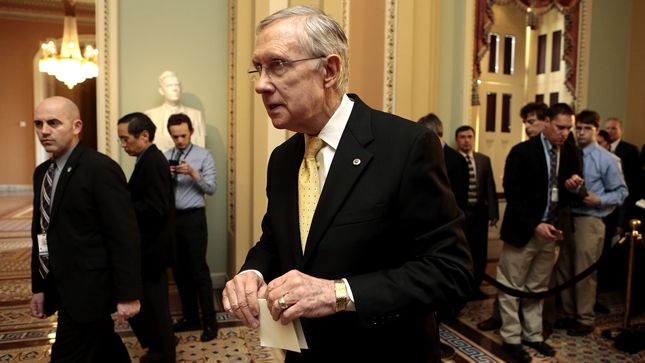 Tea Party Patriots filed a complaint against Reid for his attacks against the Kochs.