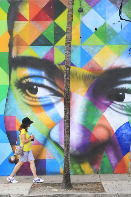 USA, Florida, Miami, Wynwood ARt District, mural by Kobra ©Ludovic MAISANT