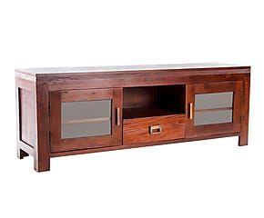 Mueble tv en madera de caoba madera exotica pinterest - Muebles de caoba ...