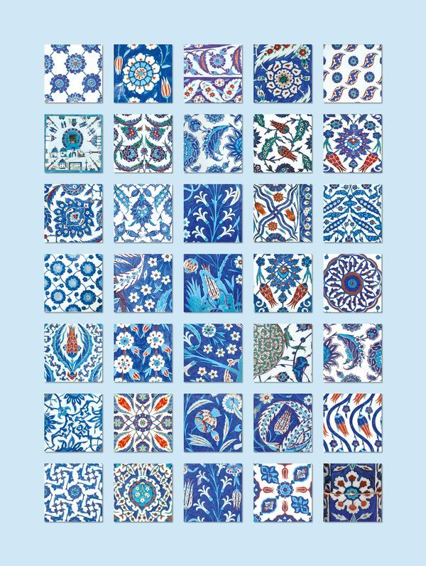 Turkish Iznik Tiles