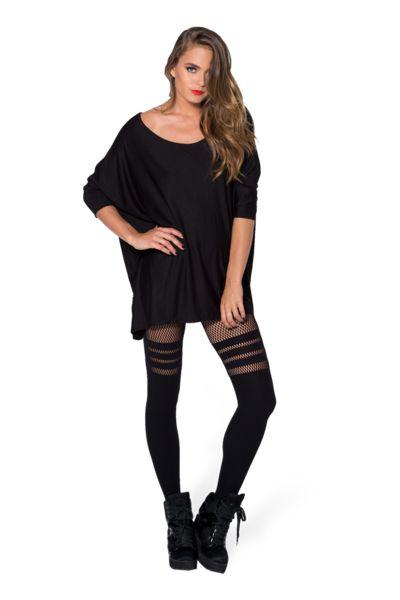 Sporty Stripes Hosiery › Black Milk Clothing