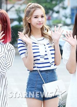 Jei (Fiesta) on Star News KBS Music Bank