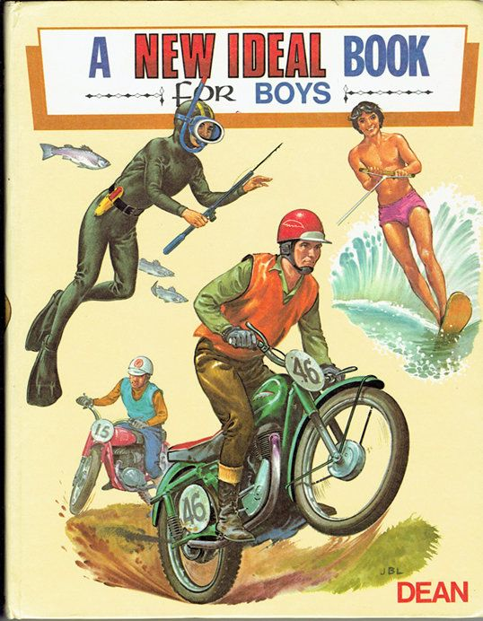 VINTAGE TREASURE - A New Ideal Book for Boys
