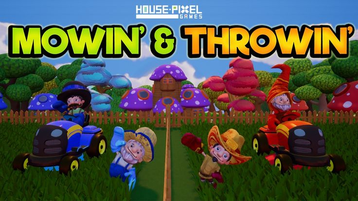 House Pixel Games Launches a Crowd funding Campaign for their newly developed game, Mowin' & Throwin'