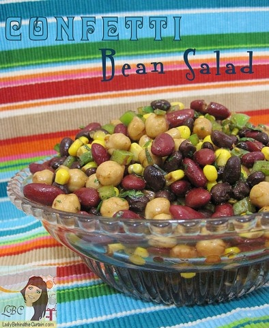 Lady Behind The Curtain -  Confetti Bean Salad