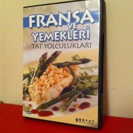 Fransa Yemekleri DVD (İkinci El)