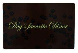 Dog's favourite Diner mat og drikke Underlag