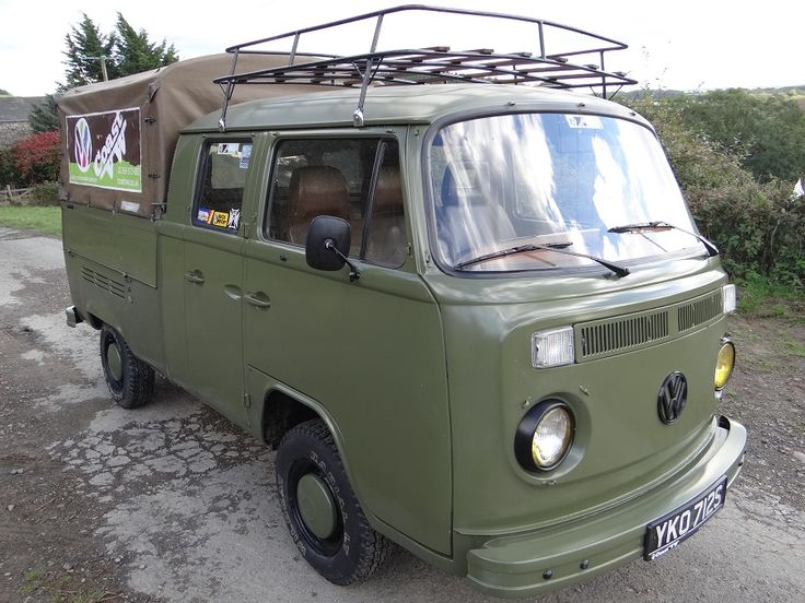 Vw Baywindow Double Cab Pick Up For Sale Patio Canopy