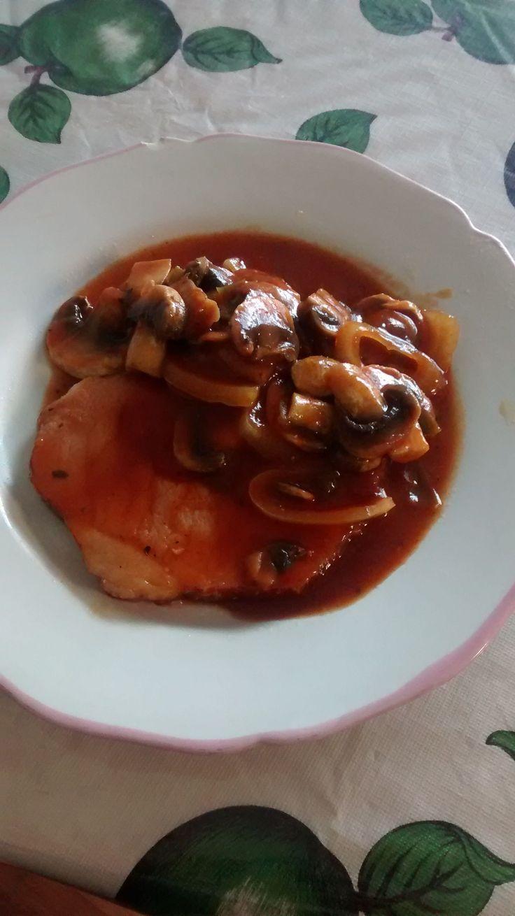 Chuletas ahumadas a la naranja @ allrecipes.com.mx