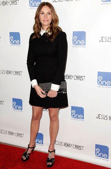 The Best Little Black Dresses of 2012 - Julia Roberts in Victoria, Victoria Beckham