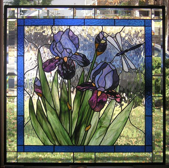 Hey, I found this really awesome Etsy listing at http://www.etsy.com/listing/112902571/purple-iris-with-buds-28-34-x-28-34