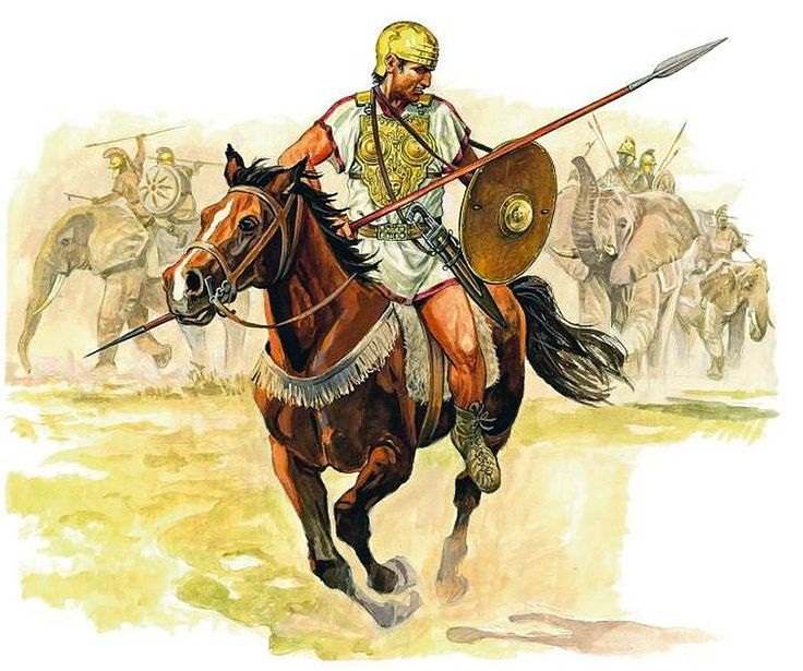 """Jinete ibero, Batalla de Zama, 202 aC."",  Marek Shishko (Марек Шишко)"