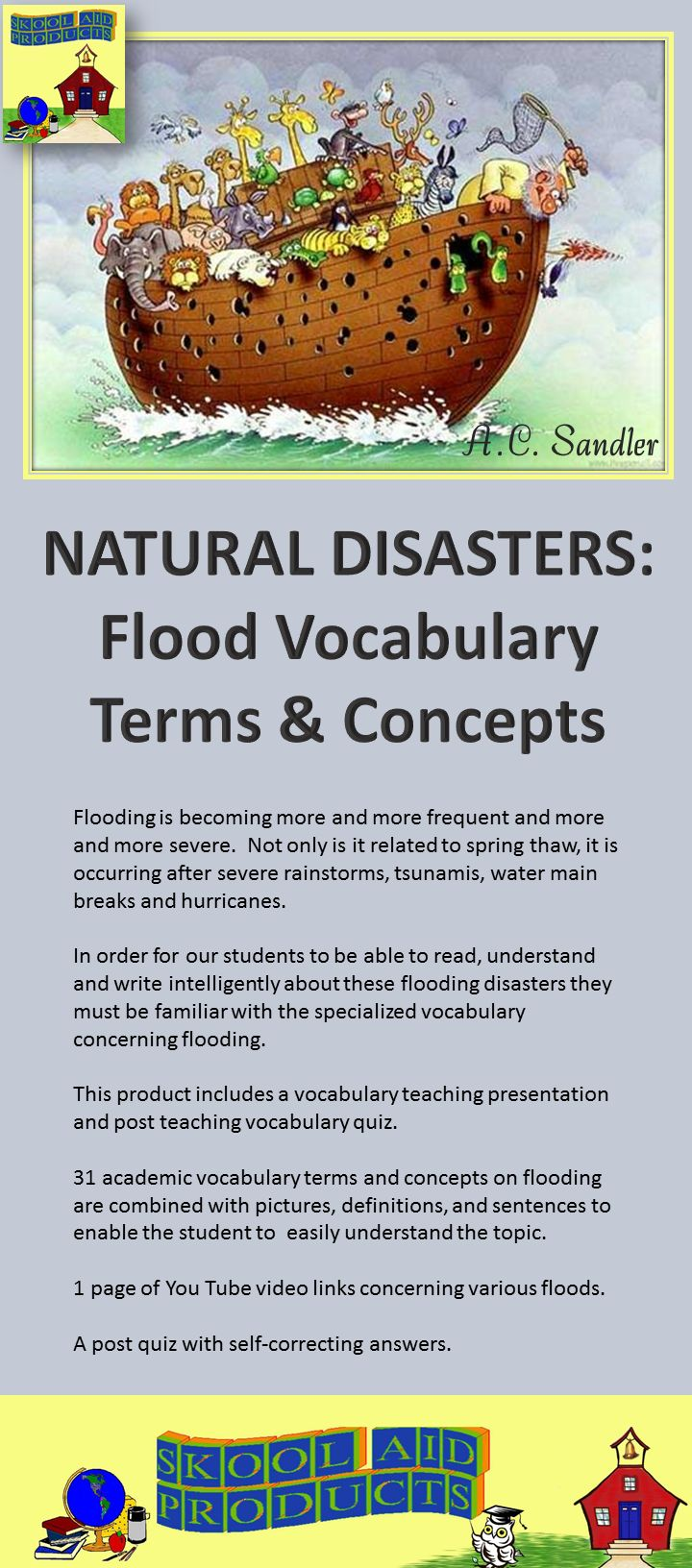 English in the News: Vocabulary of Floods · engVid