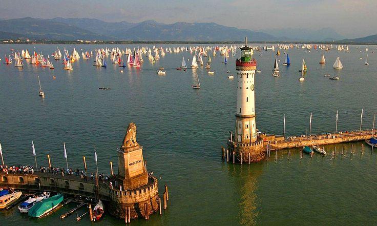 Der Lindauer Hafen © Internationale Bodensee Tourismus GmbH / Fotograf: Achim Mende