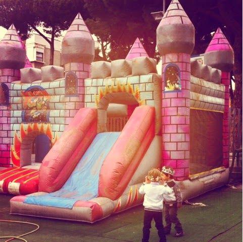 Prince 1st birthday party. Primo compleanno a tema principe: castello confutabile