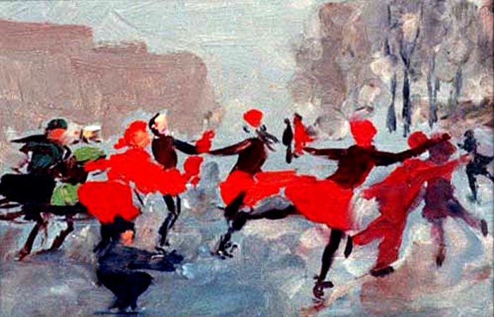 Taisia Afonina - Na pista, 1956