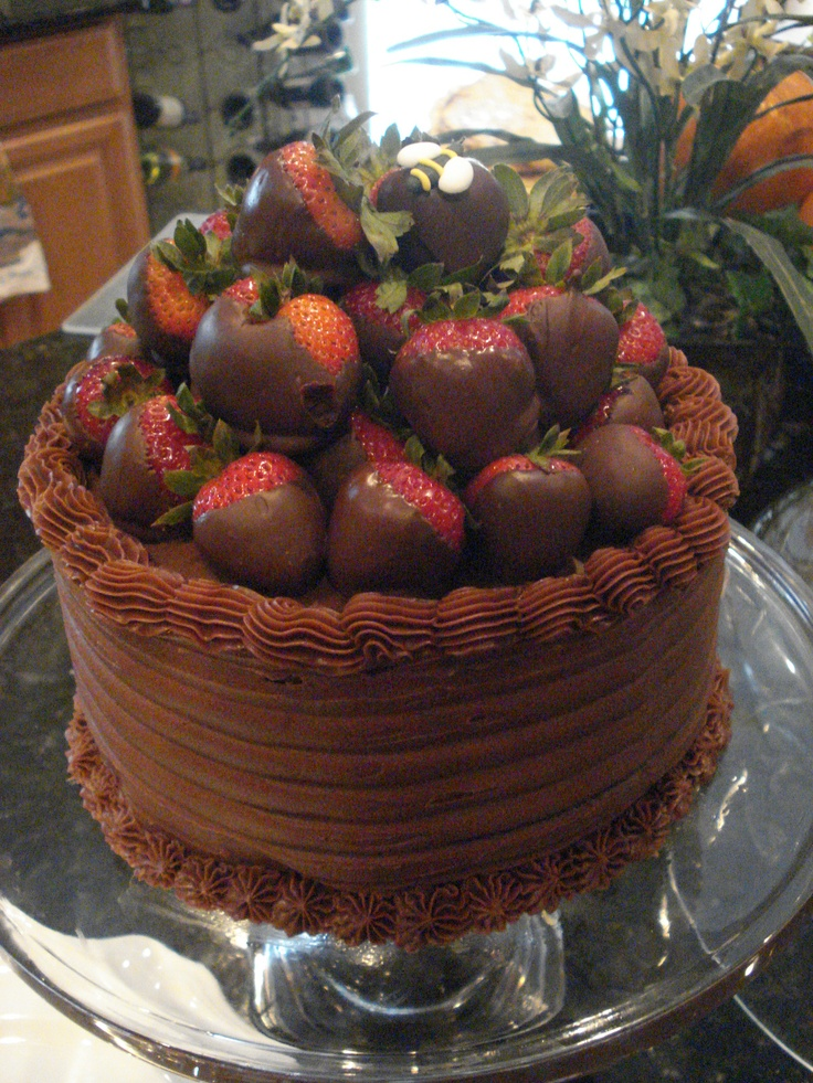 Strawberry Basket Cake! | cakes, cupcakes, stands and ideas | Pintere ...