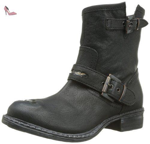 Elena 2, Chaussures de ville femme - Noir (Nabuck Noir), 38 EUDonna Più