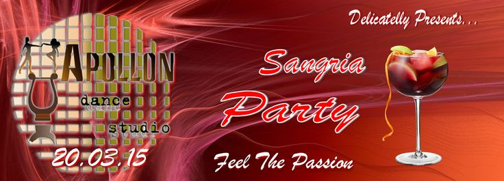 Apollon dance studio...: Το Sangria Party ξεκινά!!!
