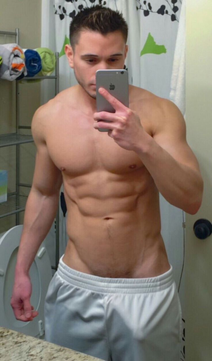 hot naked boy in bathroom