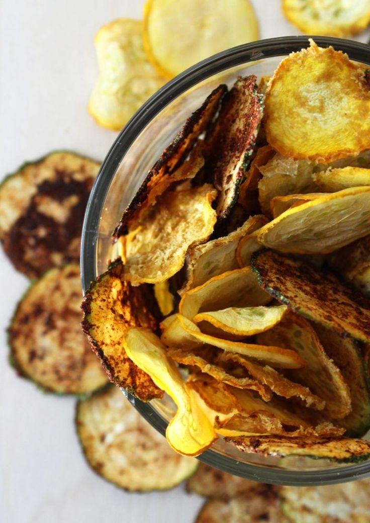 Raw Vegan Zucchini Chips | Cheesy, BBQ, and Salt & Vinegar