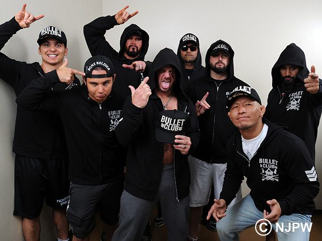 41 Best Images About » Bullet Club / The Elite On Pinterest