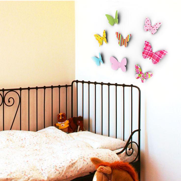 Inspirational Versch nert eure R ume mit unserer Wanddeko Schmetterling