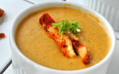 be healthy-page: Lobster Mushroom Bisque
