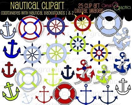 anchors etcNautical Digital, Nautical Clipart, Anchors Clipart, Clip Art, Anchors Nautical, Nautical Clips, Sailing Clipart, Free Printables, Clips Art