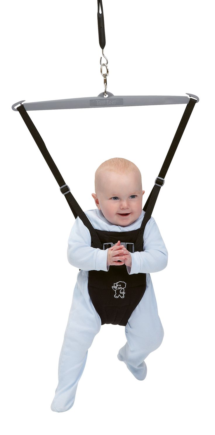 Tippitoes Baby Bouncer - Black - buybaby.co.uk - 1