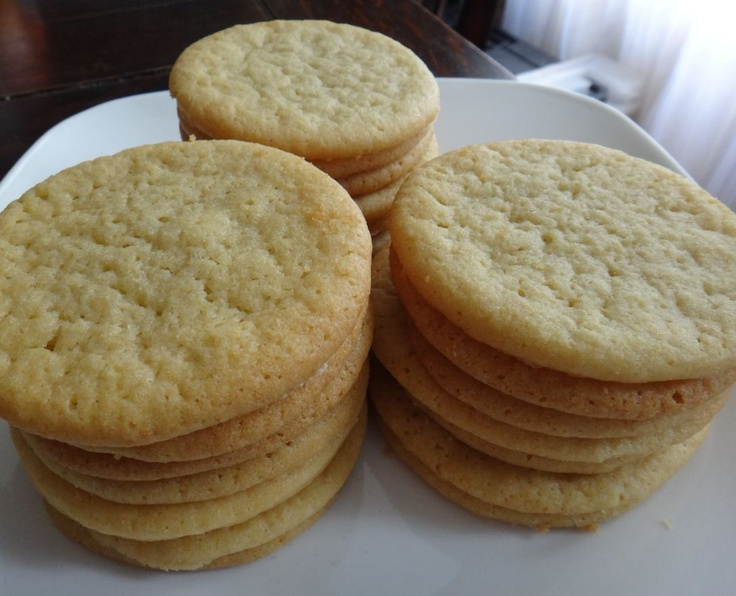 Chewy sugar cookies...pretty good recipe I just baked them for a few ...
