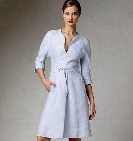Patron de robe - Vogue 1381