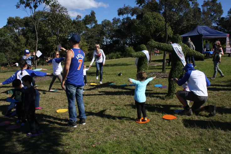 Fun for the kids @ National Tree Day