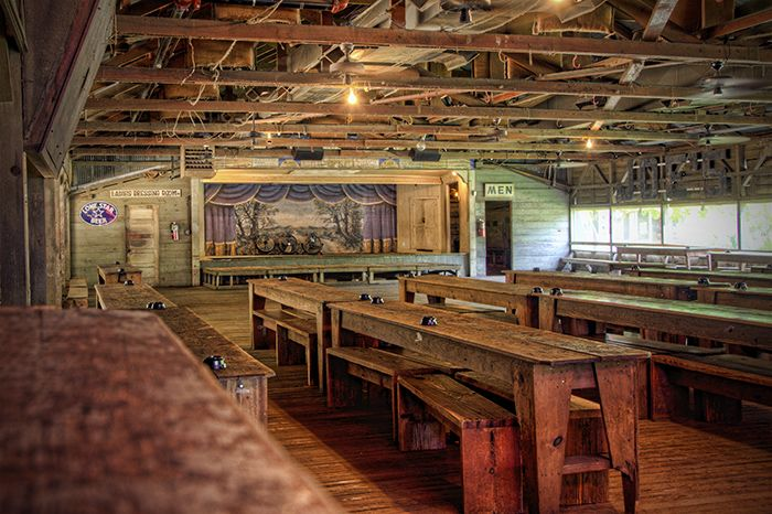 Inside Gruene Hall...oldest dance hall in TX and one of the best music venues in the state.