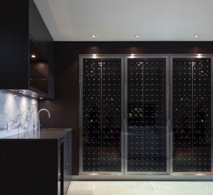 Kitchen Cabinet Doors Vancouver Bc: Best 25+ Glass Wine Cellar Ideas On Pinterest