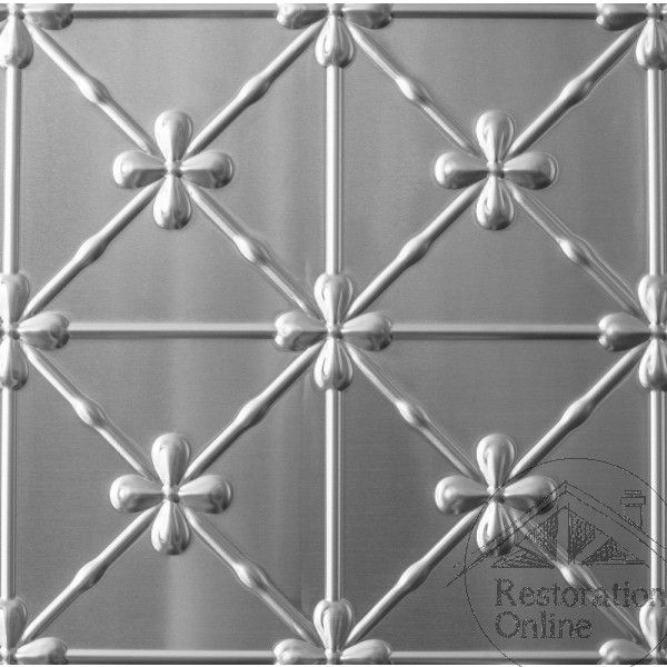 Pressed Metal Clover Panel 900 x 1800mm