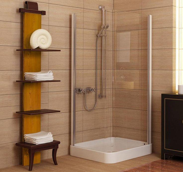 Showers For Small Spaces 26 best corner shower images on pinterest | bathroom ideas, corner
